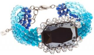 Swarovski Player Blue crystal bracelet