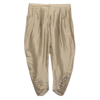 Nina Ricci Beige Trousers
