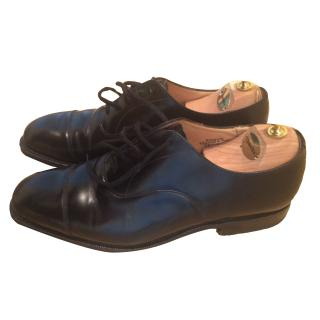 Church's male shoes in black leather