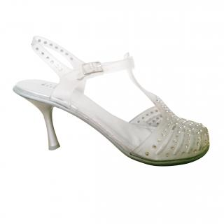 Stuart Weitzman Glamourous Jelly Shoes