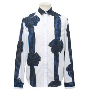 Michael Van Der Ham Patterned Shirt