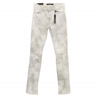 J Brand Rail Mid-rise Jeans in Fame