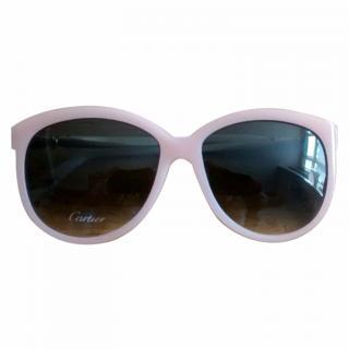 Cartier Pink Sunglasses