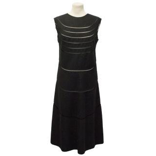 Jil Sander Black Dress