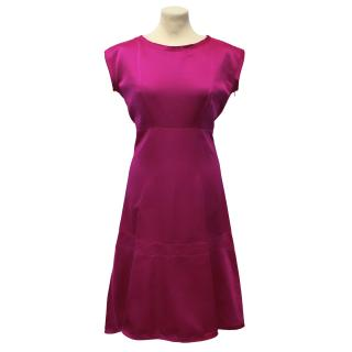 Jil Sander Fuchsia Dress