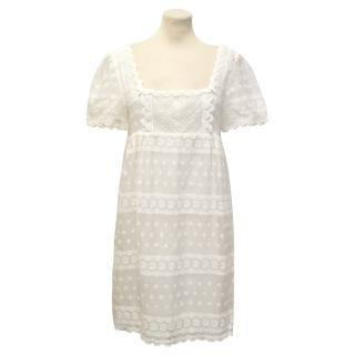 Paul & Joe White Lace Dress