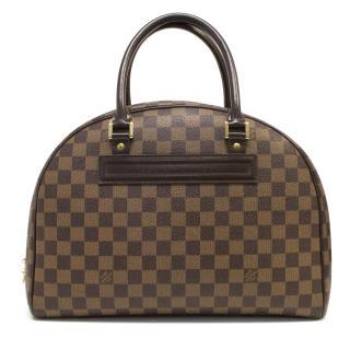 Louis Vuitton 'Nolita' Bag in Damier Ebene Canvas
