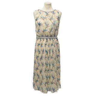 Missoni Beige Floral Silk Dress