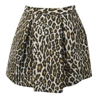 Sea New York Leopard Print Skirt