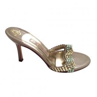 Gina Swarovski Sandals