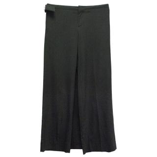Jean Paul Gaultier Black Wrap Trousers