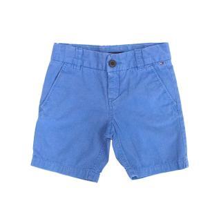 Tommy Hilfiger Boys Blue Chino Shorts