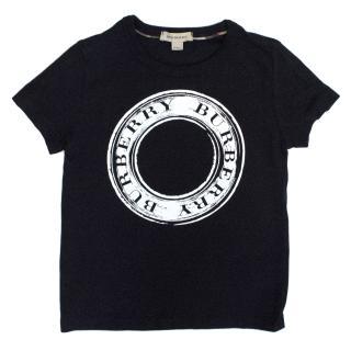 Burberry Boys Navy T-shirt