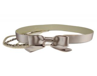 Chanel Silk Bow Belt