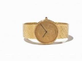 Corum Men's Watch  20 Dollar Heritage 18K Gold