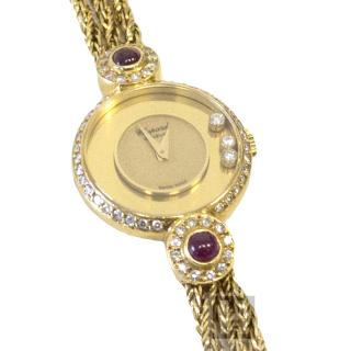 Chopard 3 Happy Diamonds and Rubies Watch