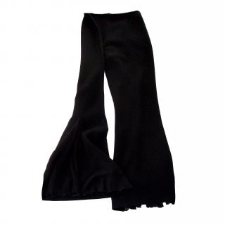 Eescada pure new wool and silk trousers