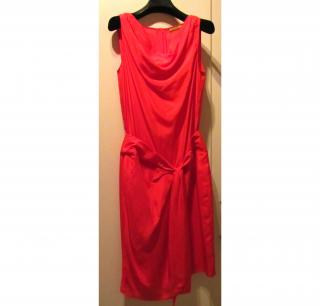 Natan rough silk dress