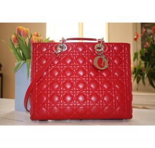 Stunning red Christian Dior bag