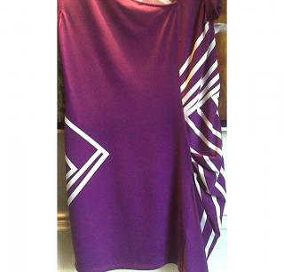 BCBG MAXAZRIA PURPLE DRESS