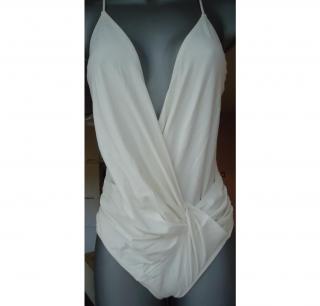 PRADA- WHITE SWIMMING COSTUME