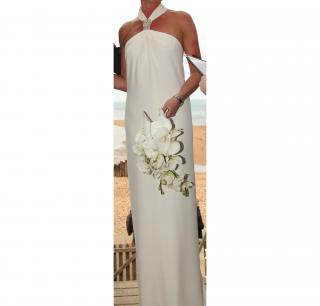 White Azzaro Gown from 2011 collection