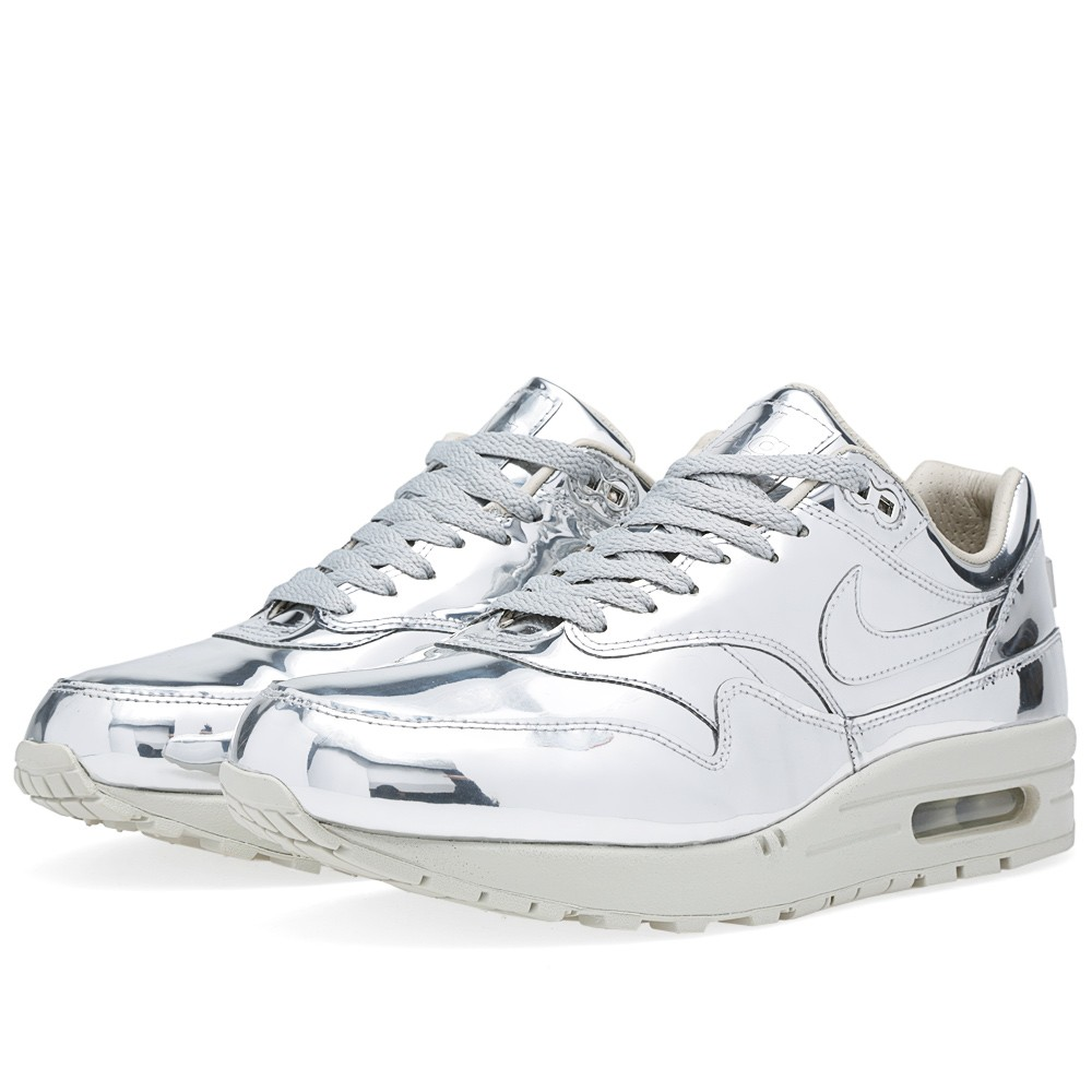 new product f61de c5012 Nike Air Max 90 Liquid Silver Sneakers   HEWI London