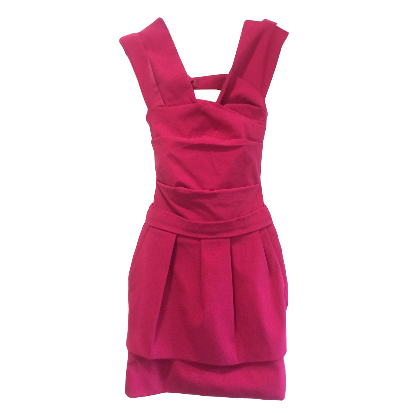 Preen by Thornton Bregazzi Fuchsia Dress