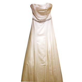 100% Pure Silk Wedding Dress