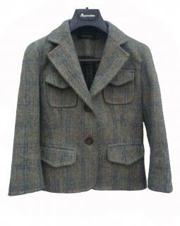 Sandro Green tweed jacket