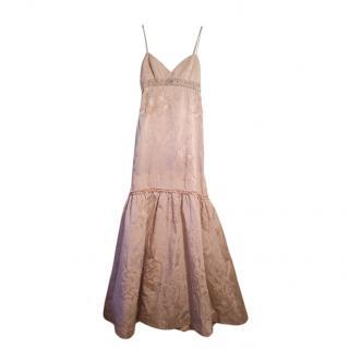 Badgley Mischka Champagne gown