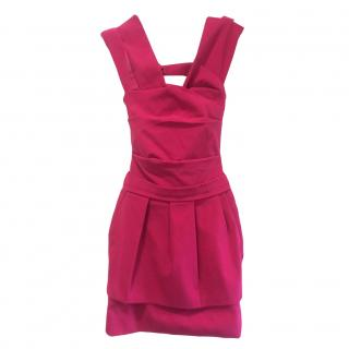 Preen by Thornton Bregazzi Fuchsia Dress