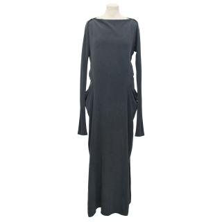 Vanessa Bruno Step-hem Silk-Crepe Dress