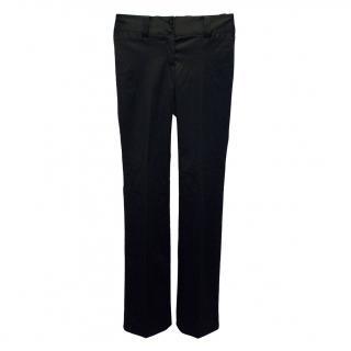 Dolce & Gabbana Black Acetate Trousers