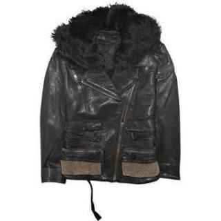 Acne Black Leather Jacket