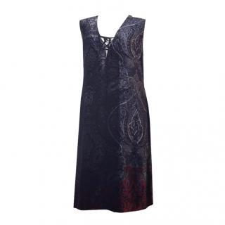 Sportmax Devore' Sleevless Dress