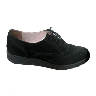 Day Birger et Mikkelsen black suede brogues