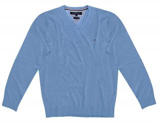 Tommy Hilfiger Boys Pale Blue Jumper