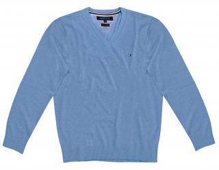 Tommy Hilfiger Boys Pale Blue Jumper
