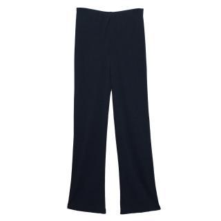 Sportmax Navy Blue Trousers