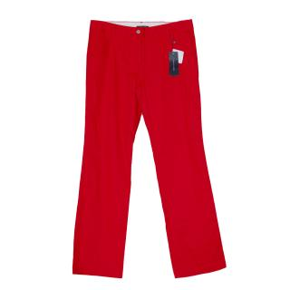 Tommy Hilfger Ladies Golf Red Trousers
