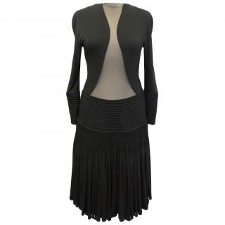 Ralph Rucci Chado Black Dress