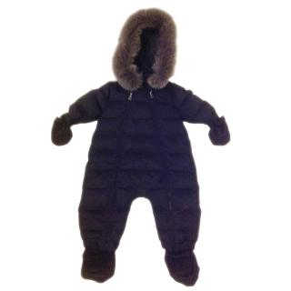 Dior baby Navy snow suit