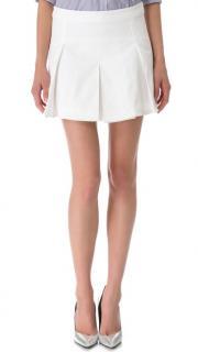 Dsquared White Mini Skirt