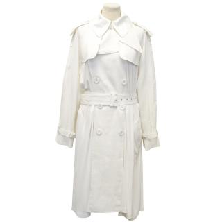 Jean Paul Gaultier Cream Trench Coat