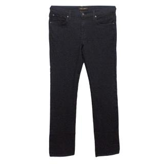 James Jeans Dark Denim Straight Legged Jeans