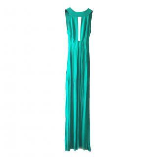 Balmain Long Green Dress
