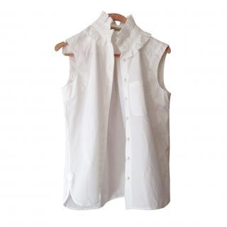 Balenciaga sleeveless blouse