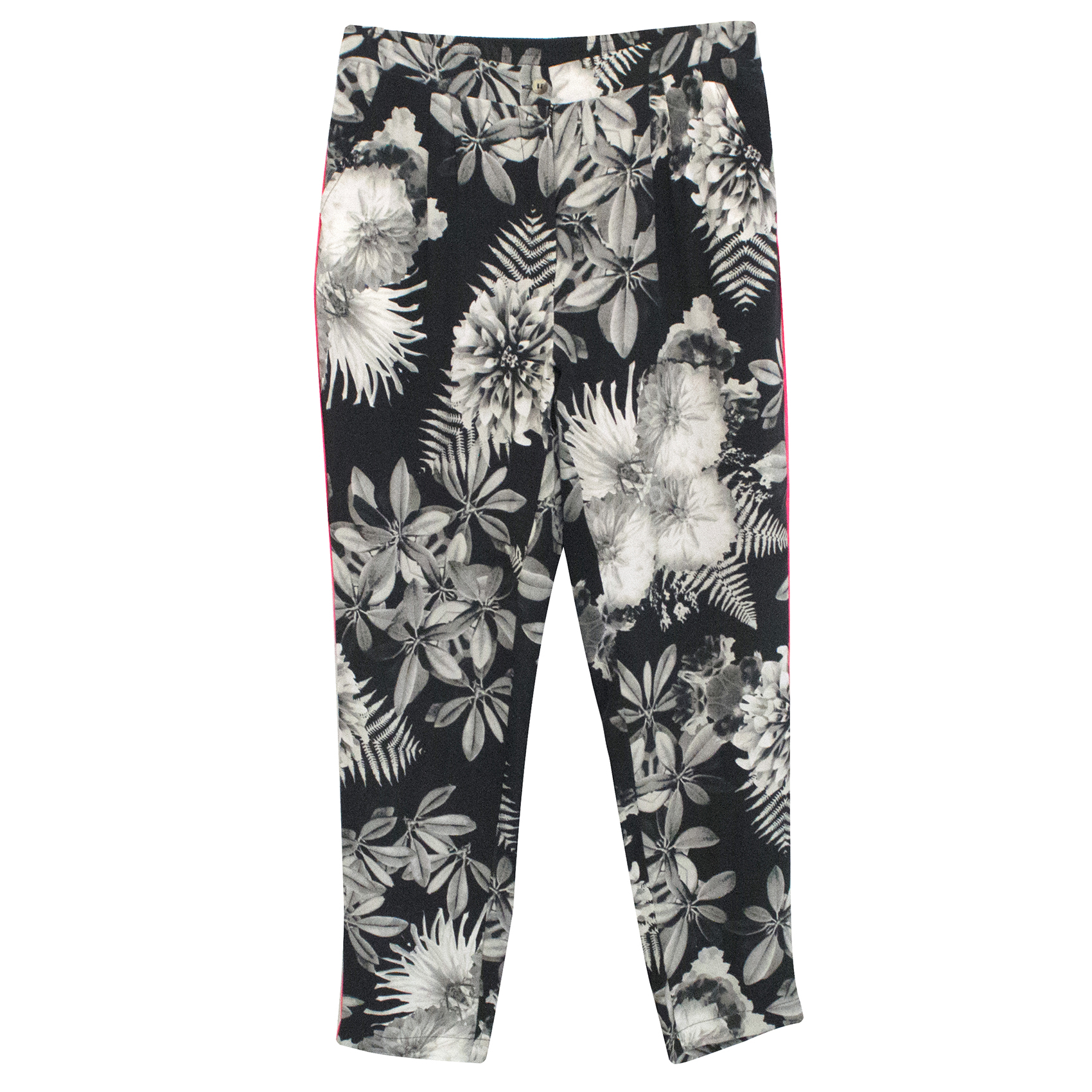 Pyrus Floral Silk Trousers