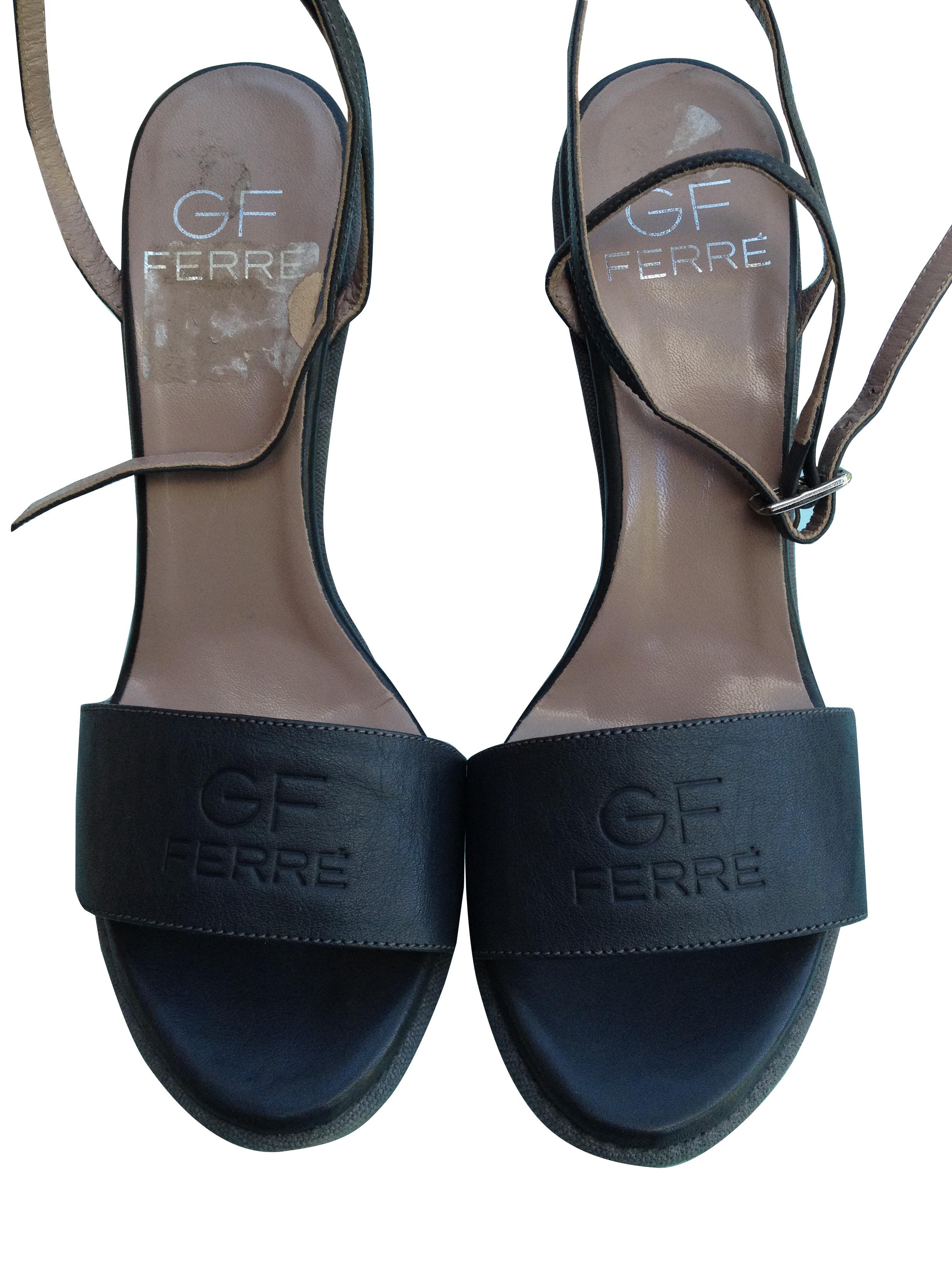 Gianfranco Ferre wedge sandals